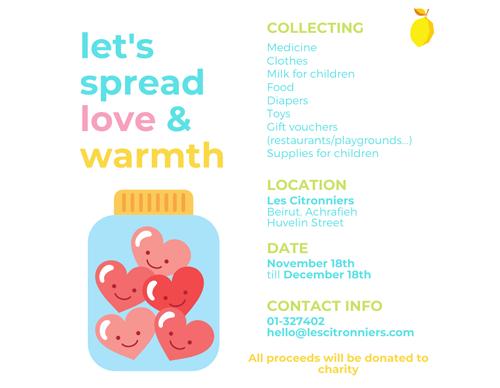 Les Citronniers - let's spread love